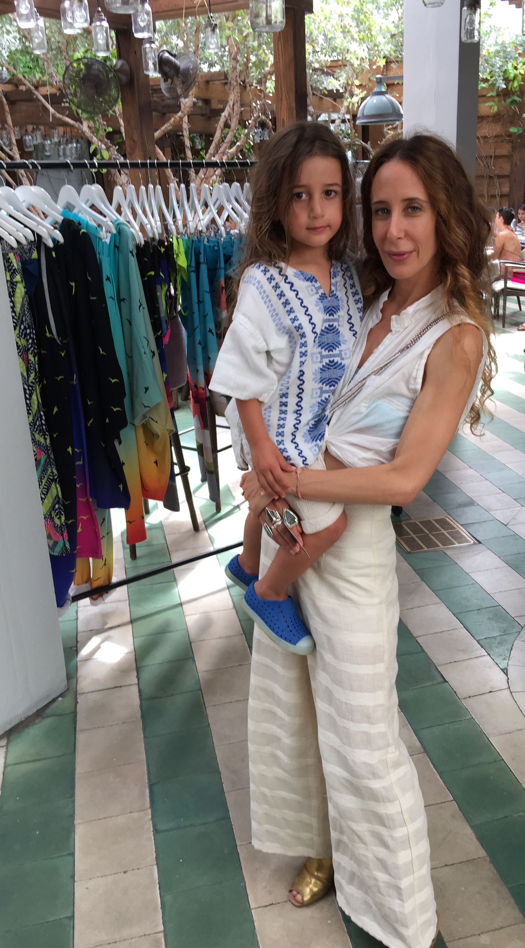 Mara with baby
