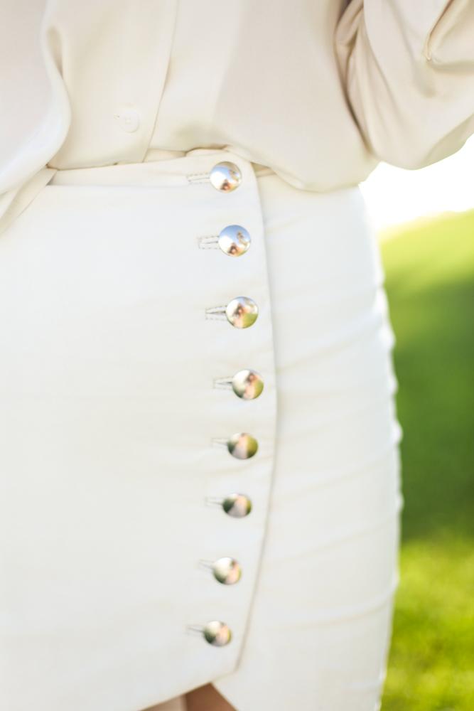 White Leather Mini Options